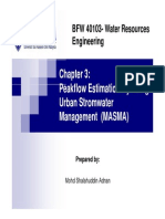 Chapter 3 Streamflow Estimation by Msma