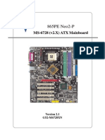 865pe Neo2 p Motherboard Manual