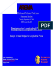 AREMA- Design for Longitudinal Loads