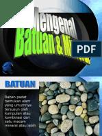 2_Mengenal Batuan & Mineral 2009