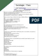 T2 de Sociologia- 2009