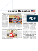 March 26 - 31, 2014 Sports Reporter