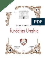 Buletinul Fundaţiei Urechia Nr. 10