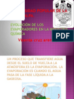 Evolucion de Evaporadores