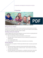 parent support  active living for families  healthy kids activities 31 3 14