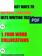 5 easy ways to improve cohesion ielts writing task 2