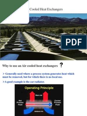 Air Cooler Presentation | Mechanical Fan | Heat Exchanger