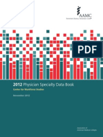 2012 Physician Specialty Data Book