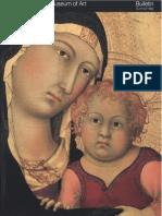 Fourteenth Century Italian Altarpieces the Metropolitan Museum of Art Bulletin v 40 No 1
