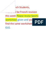 French Revision