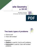 composite geometry