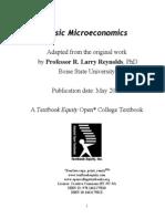 Microeconomics Version 2007