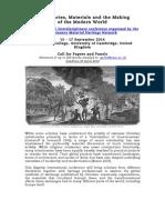 CfP- Missions, Materials & Modern World