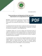 CP - Pobre escrutinio para nombrar a Tuller demuestra improvisación de AGP
