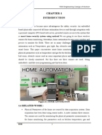 Smart Home Security System Usingandroid New Documnt