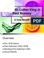 East Busway Project Presentation