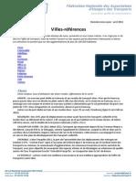 Villes-références 31 mars 2014..