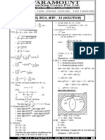 Ssc Mains (Maths) Mock Test-14 (Solution)