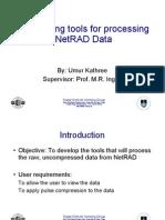 NetRad Data Processing