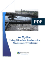 10 Myths Using Microbial Products for Wastewater Treatment