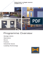 Programme Overview Hoermann