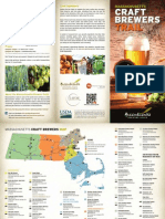 Massachusetts Craft Brewers Tourism Map
