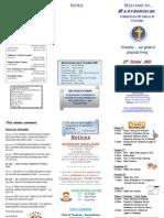 Newsletter 251009