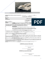 Contrat Vente Entre Particuliers(Offre d'Achat d'Un Bateau en Courtage)
