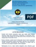 Analisis Kelayakan Usaha Meubel Suruh Semarang