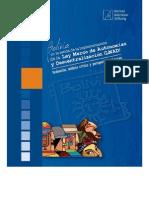 Autonomías Indígenas en la Ley Marco de Autonomías y Descentralización Avances, retrocesos y perspectivas