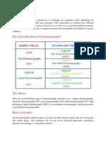 Chromatography and Distillation