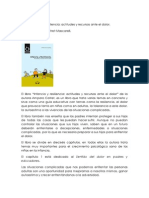 COMENTARIO LIBRO - INFANCIA Y RESILIENCIA, ACTITUDES Y RECURSOS ANTE EL DOLOR.pdf