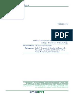 graus bilaterais de varicocele