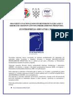 1. obavijest ECOTROPHELIA HRVATSKA 2014