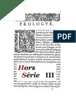 Hors-Série III
