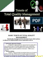 Tenets of TQm