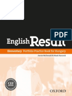 Elementary Portfolio Practice Book for Hungary
