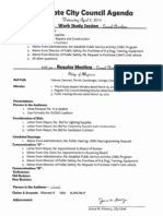 Southgate City Council Agenda April 2, 2014