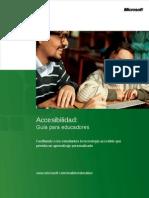 Guia de Accesibilidad Para Educadores Spanish