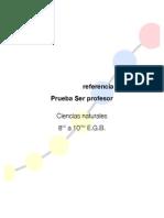INEVAL - Cédula de referencia Prueba SER Profesor - Ciencias Naturales 8v0. a 10mo. EGB.pdf