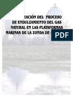 Optimizacion Del Proceso de Endulzamiento Del Gas Natural
