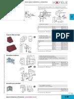 Técnicas de unión, soporte para tableros y estantes