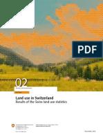Land Use in Switzerland