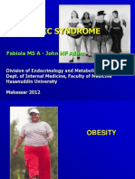 Kuliah - Obesity - Metabolic Syndrome 2012