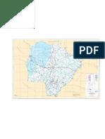 Mapa detalhado Mato Grosso do Sul Prof. Marco Aurelio Gondim [www.marcoaurelio.tk]
