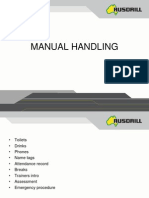 Manual Handling - Rusdrill