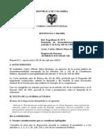 Sentencia C-0836-01 Para Pice V