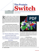 SSM Winter 2007 Biomed Protein Switch