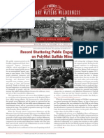 FY2013 Annual Report / Winter 2014 Newsletter