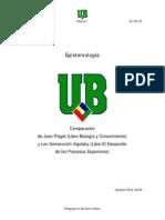 Comparacion Piaget Vigotsky